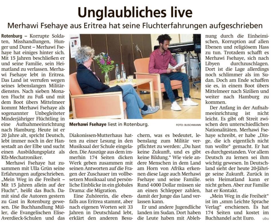 """Unglaubliches live"""