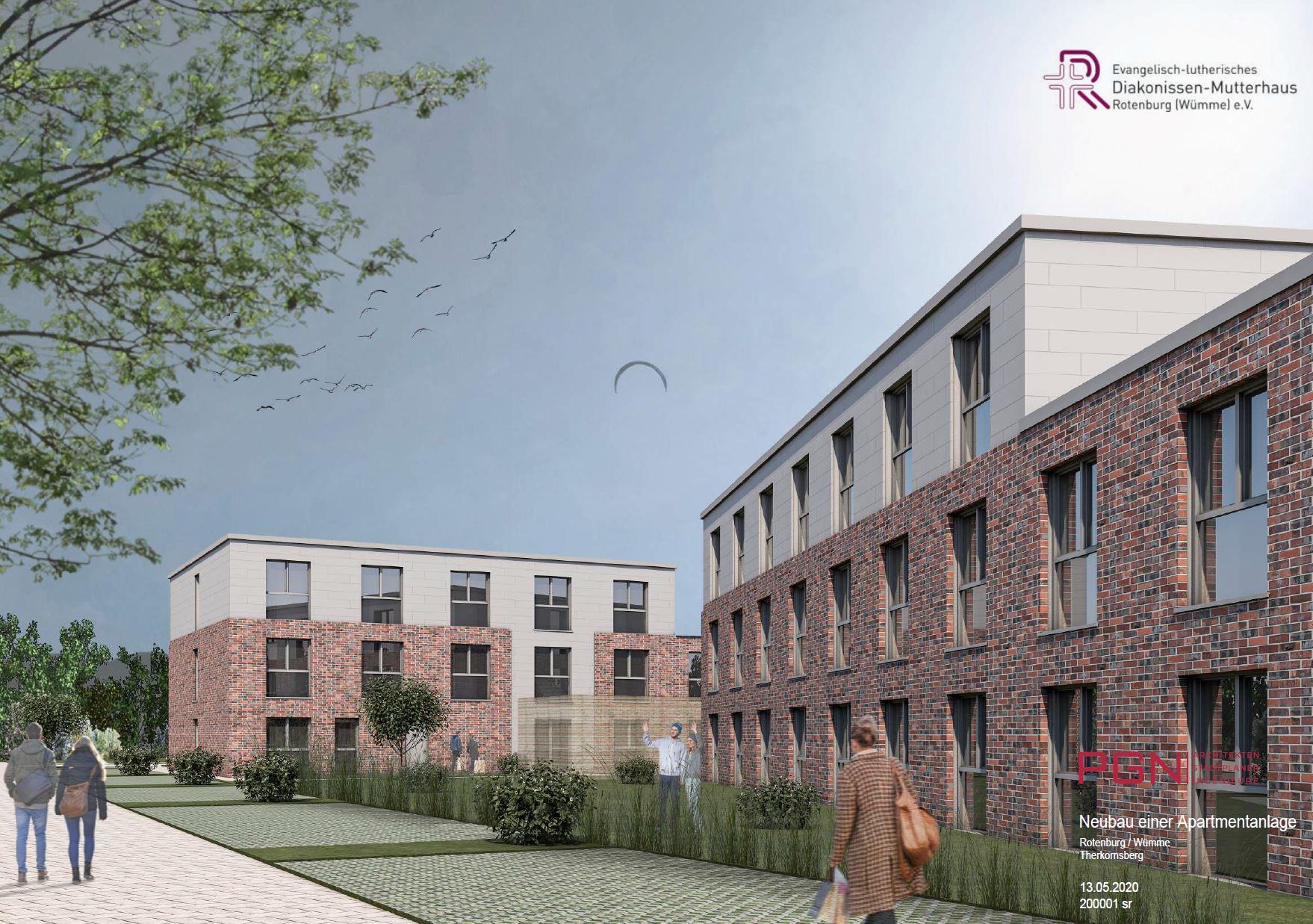 Wir bauen 90 Apartments für Auszubildende
